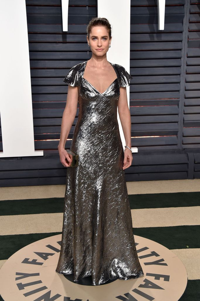 Amanda Peet hairstyles 2017 Oscars