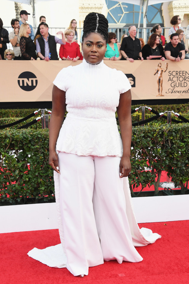 Danielle Brooks hairstyles 2017 SAG Awards