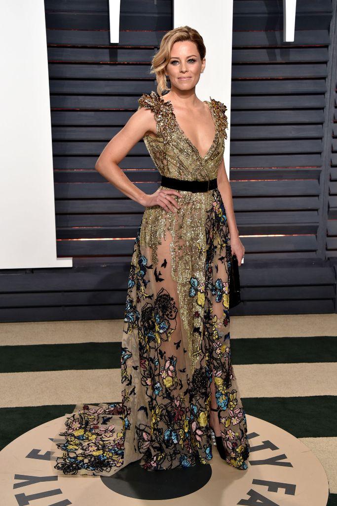 Elizabeth Banks hairstyles 2017 Oscars
