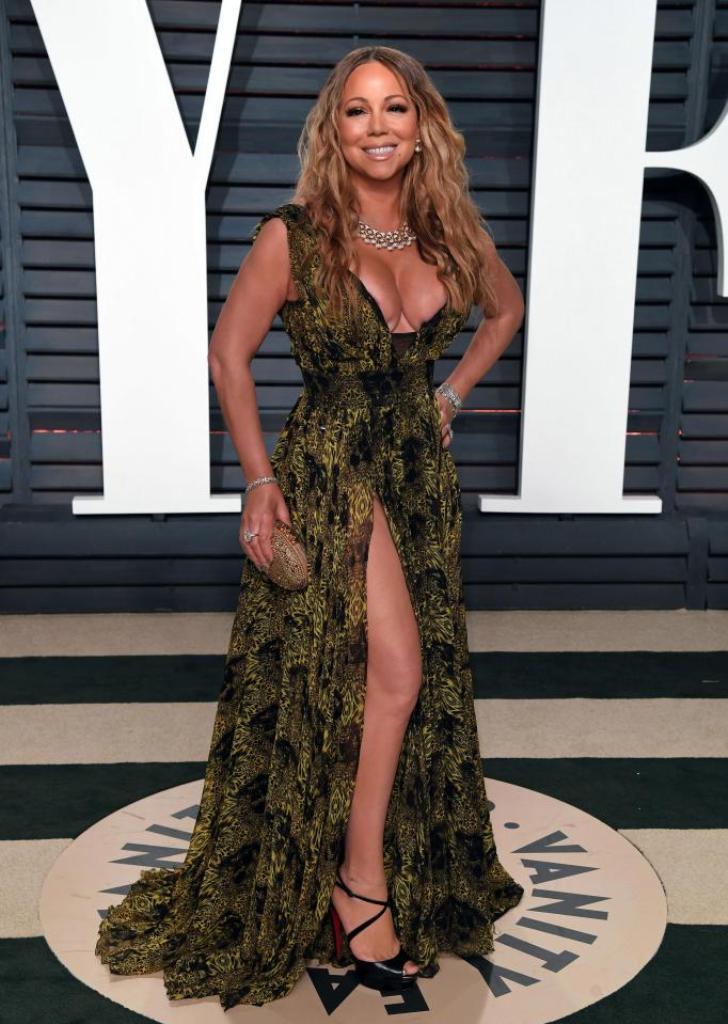 Mariah Carey hairstyles 2017 Oscars