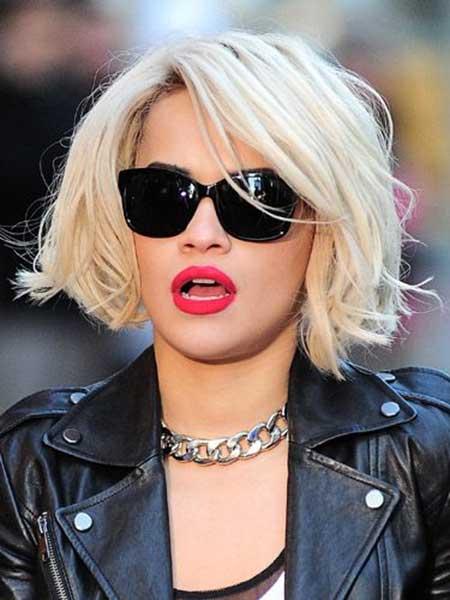 Trendy Platinum Blonde Bob Hairstyles 2017 Pretty