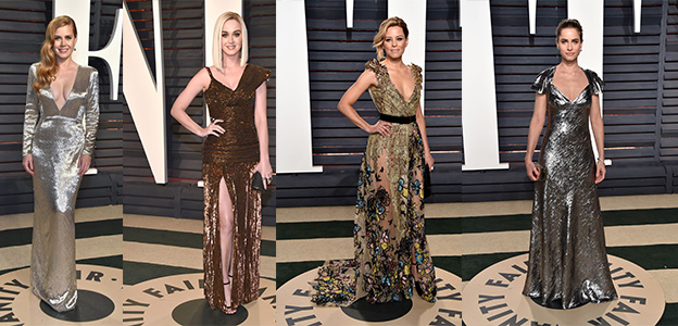 best celebrity hairstyles 2017 Oscars Afterparties
