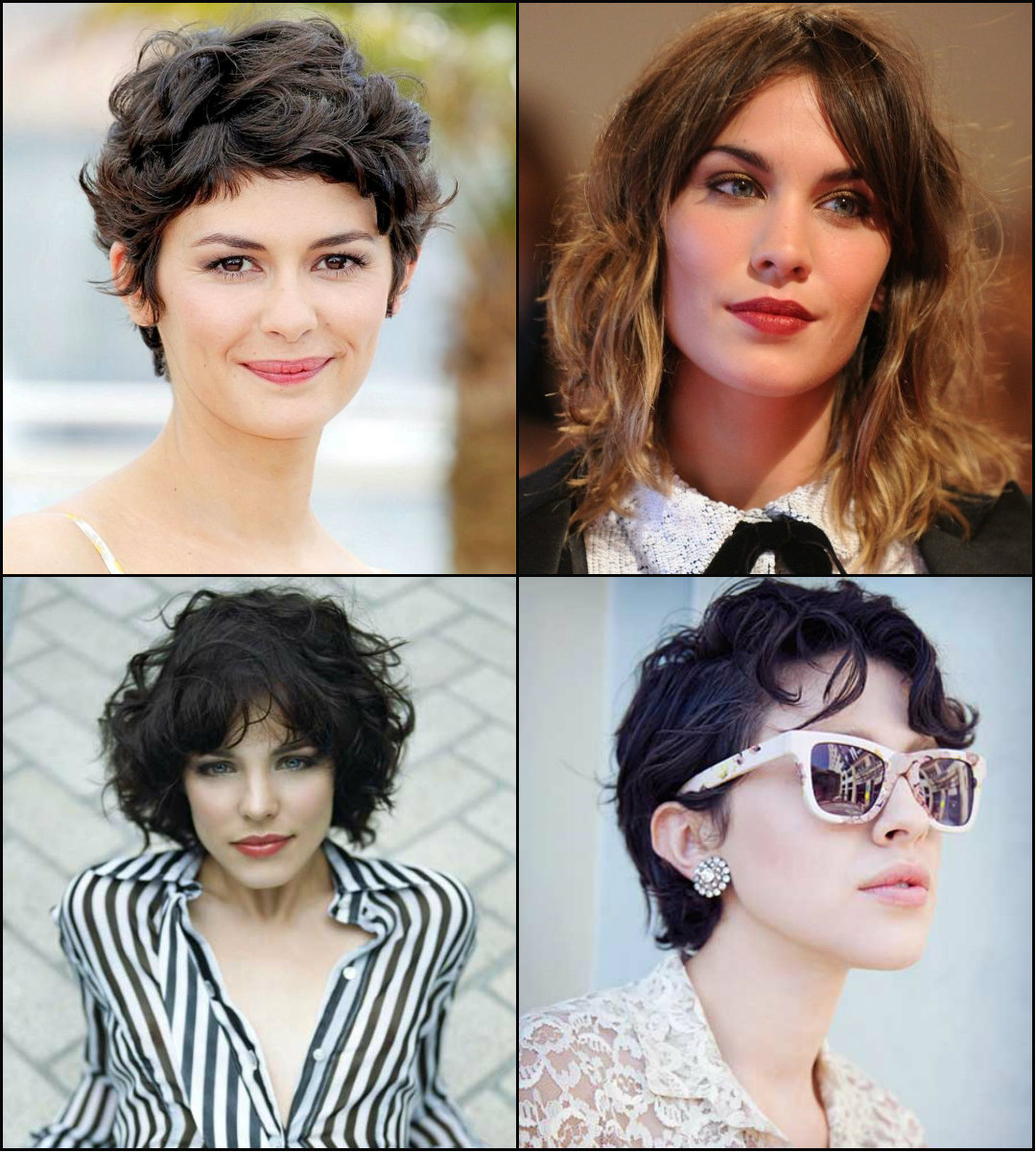 best short curly hairstyles 2017