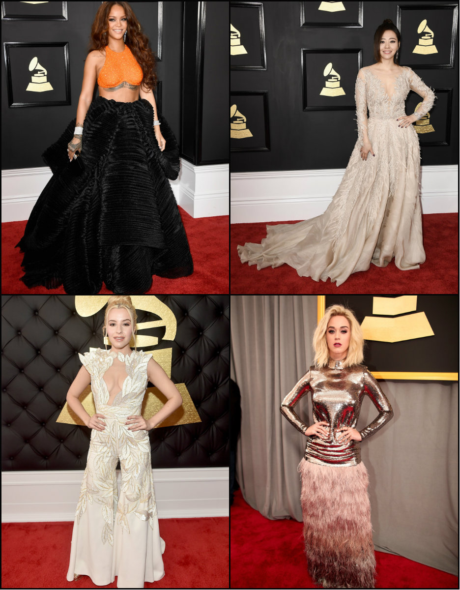 grammy 2017 hairstyles and looks