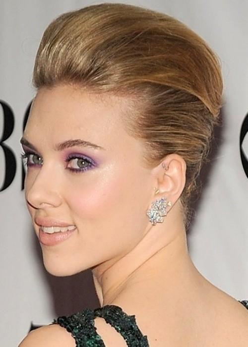 Scarlett Johansson short prom hairstyles 2017