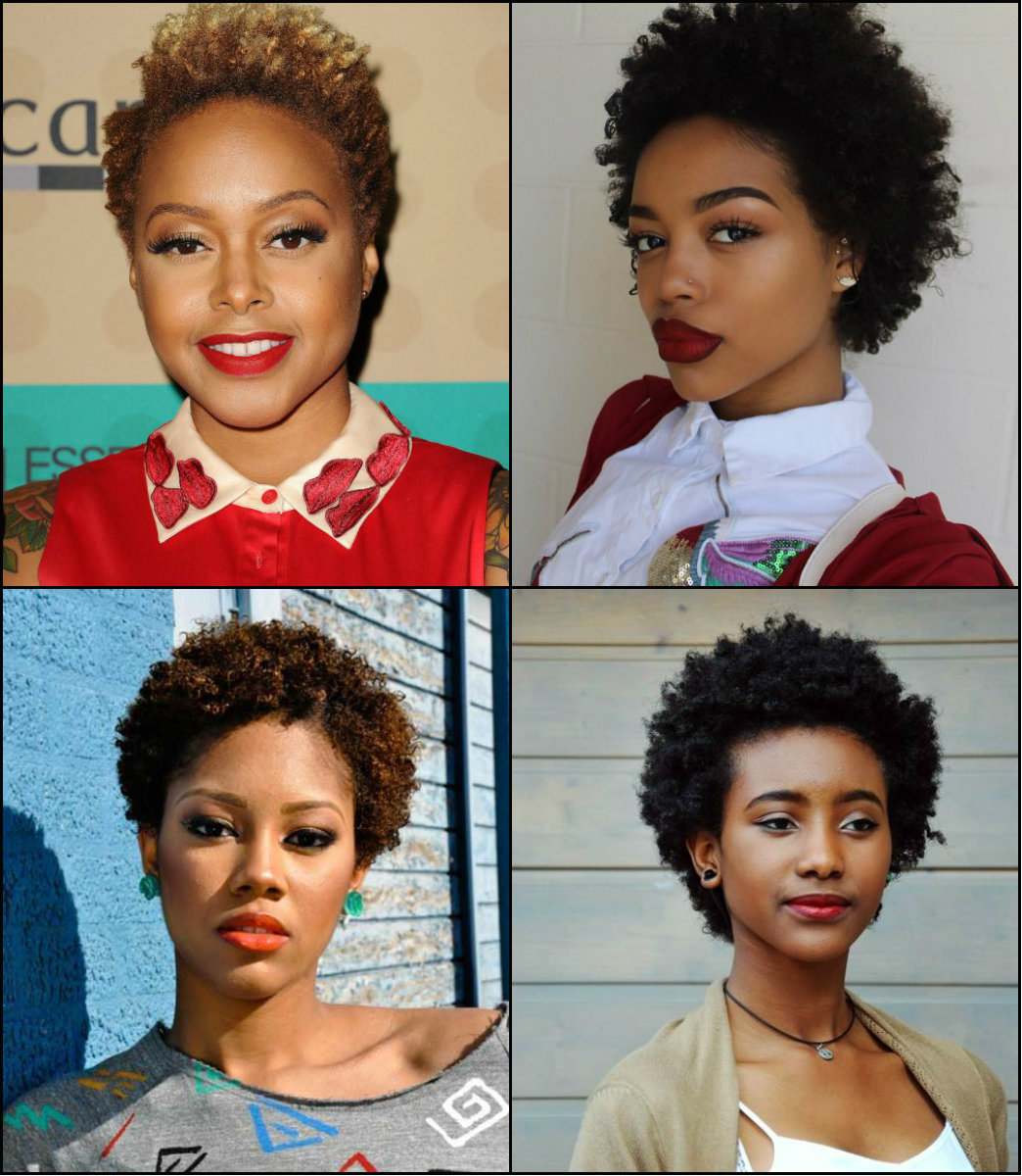Black Women Short Afro Hairstyles Pretty Hairstyles