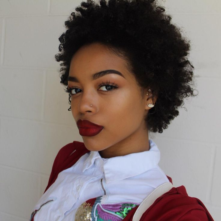 black women natural short hairstyles