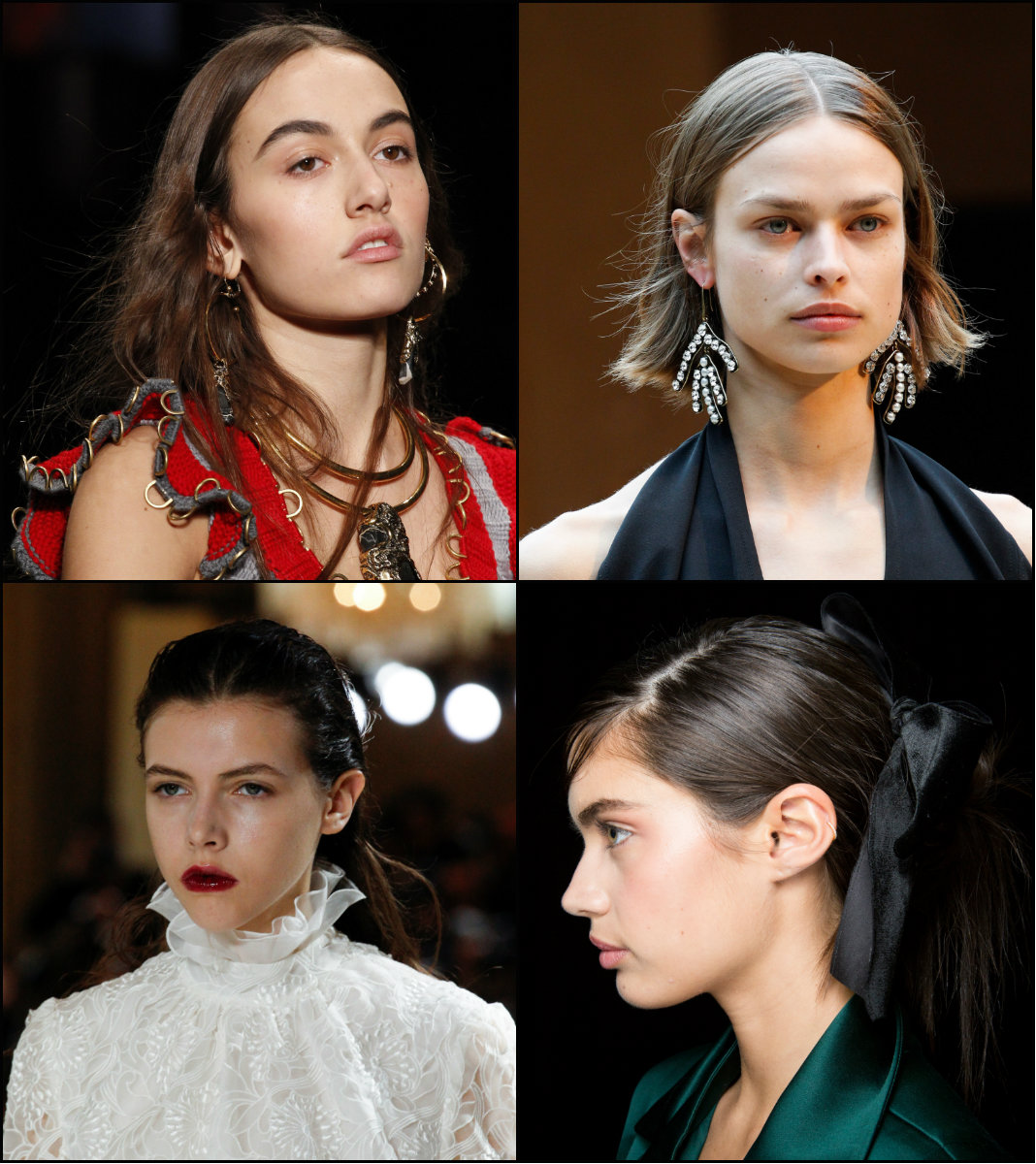 new hair trends 2018 from runways
