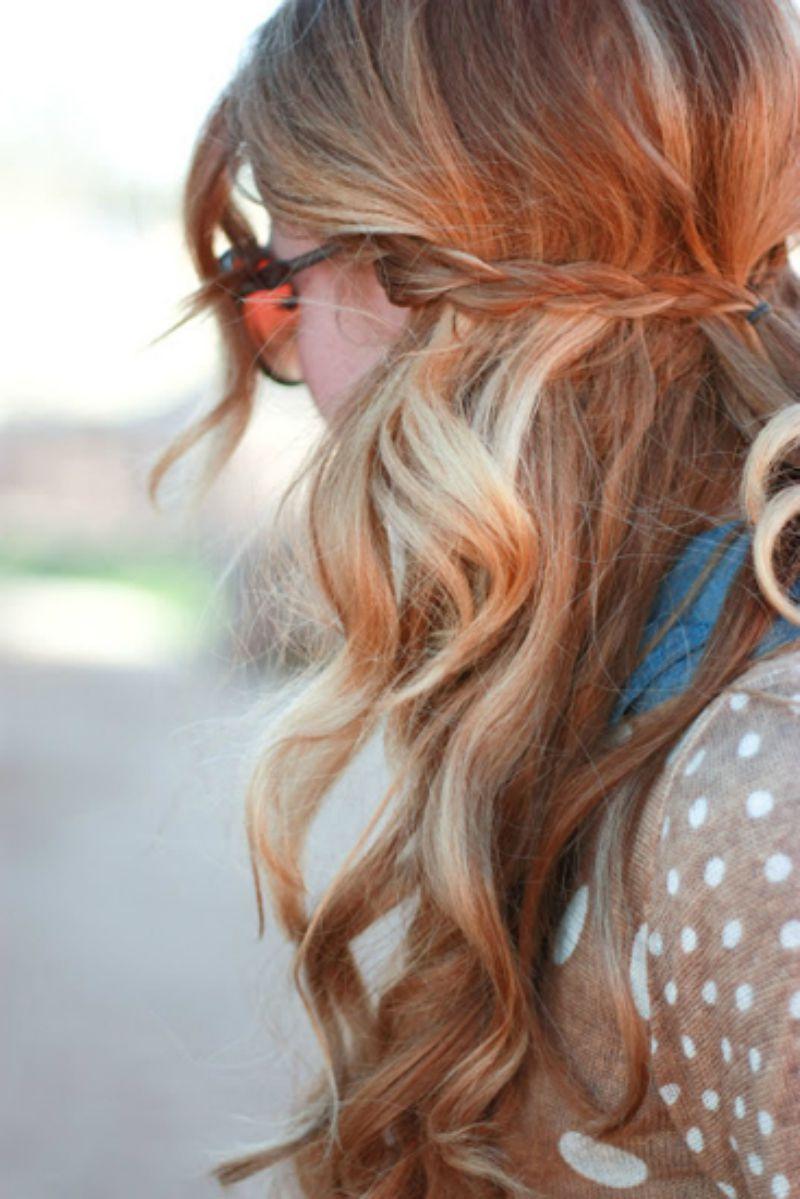 braided half updo hairstyles 2017 summer