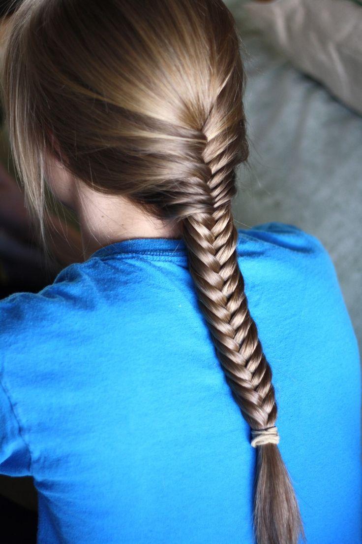 sleek fishtail hairstyles 2047 summer