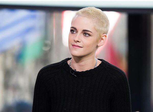 Kristen Stewarts buzz cut hairstyles