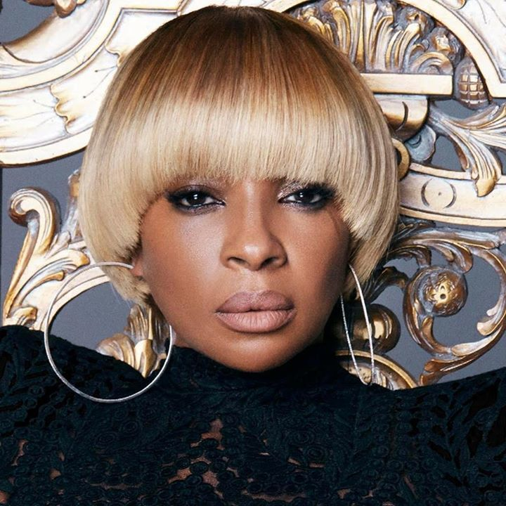 Mary J Blige bowl bob haircuts 2017