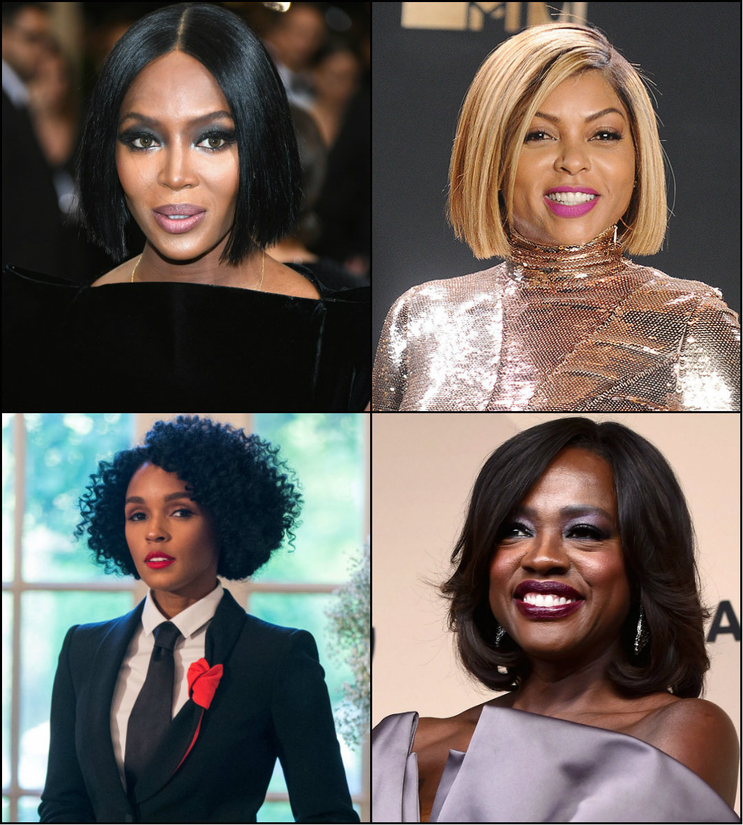 best black women celebrities bob haircuts 2017