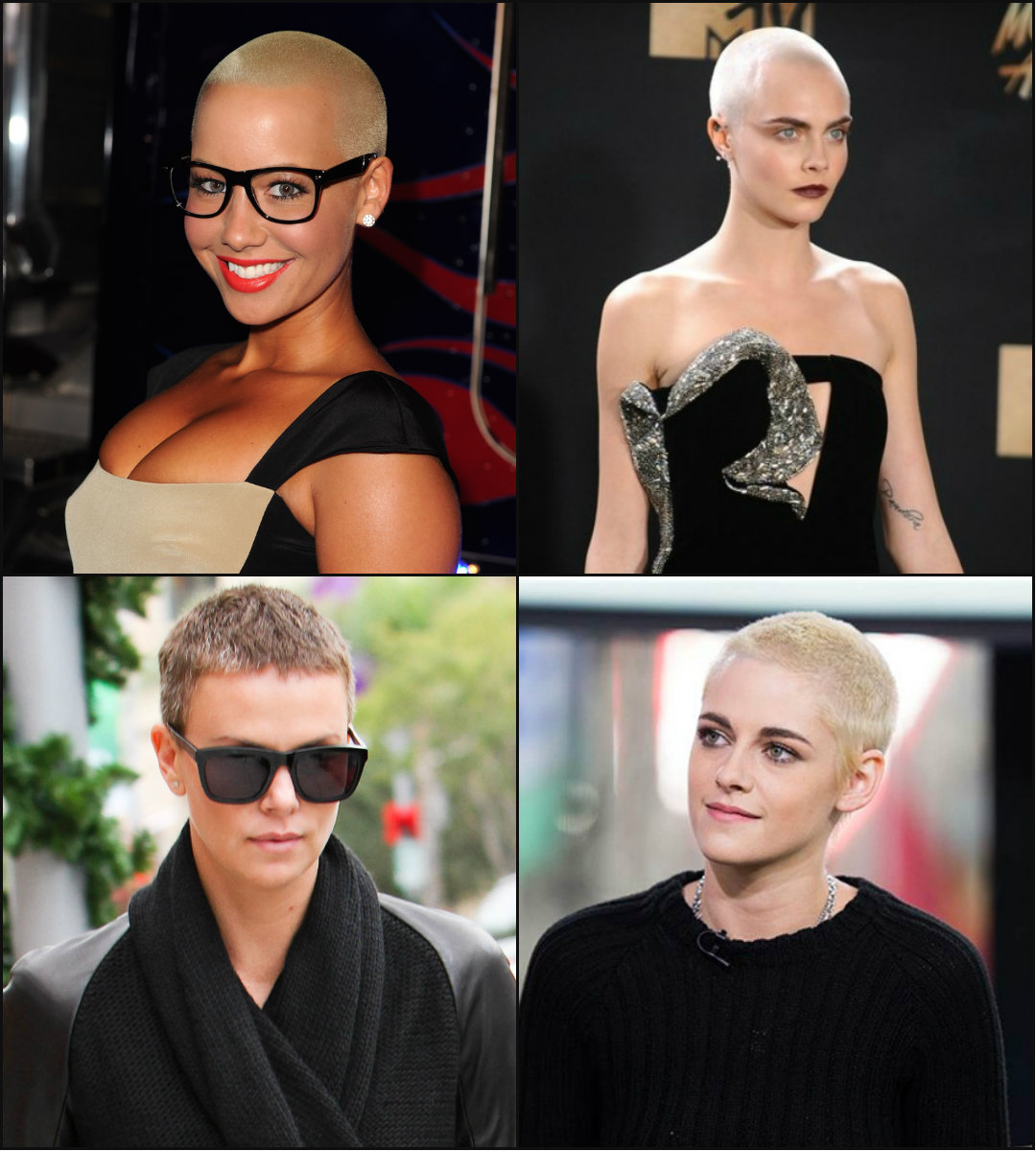 best buzz cut hairstyles 2018