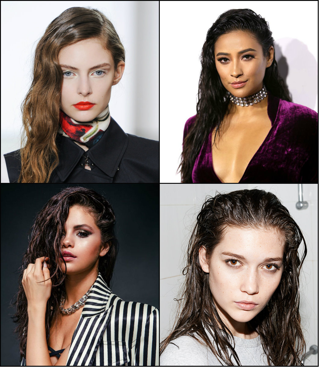 best summer wet hairstyles