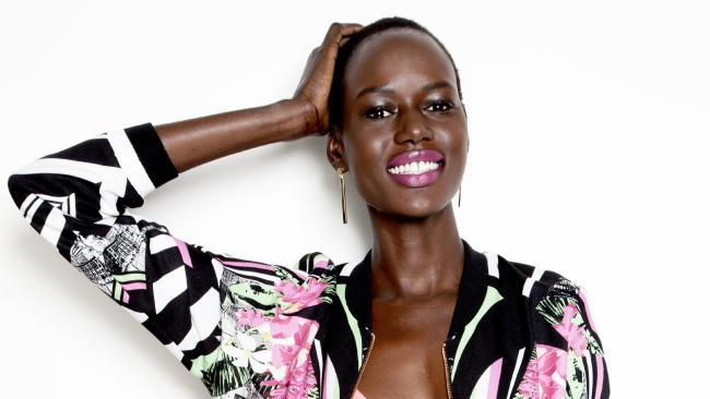 Ajak Deng short black hairstyles 2018