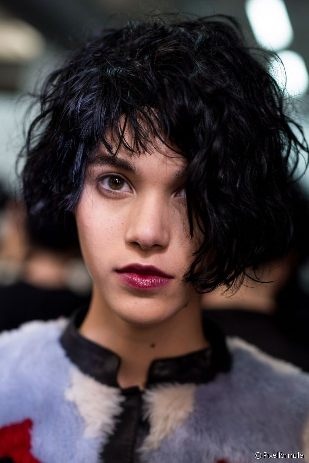 Emporio Armani bob hair trends 2017 fall winter 2018