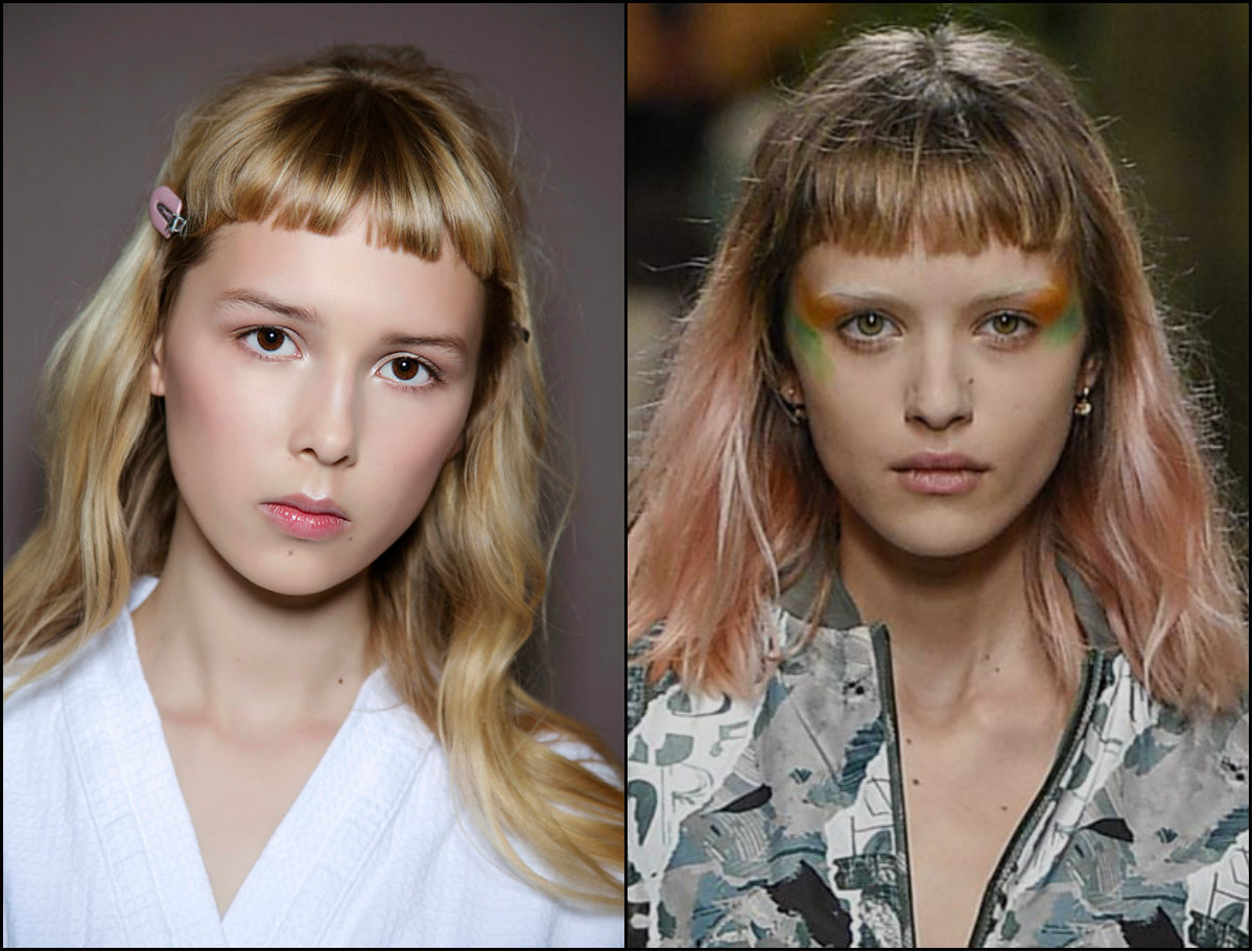 baby bangs hair trends 2017 fall winter 2018