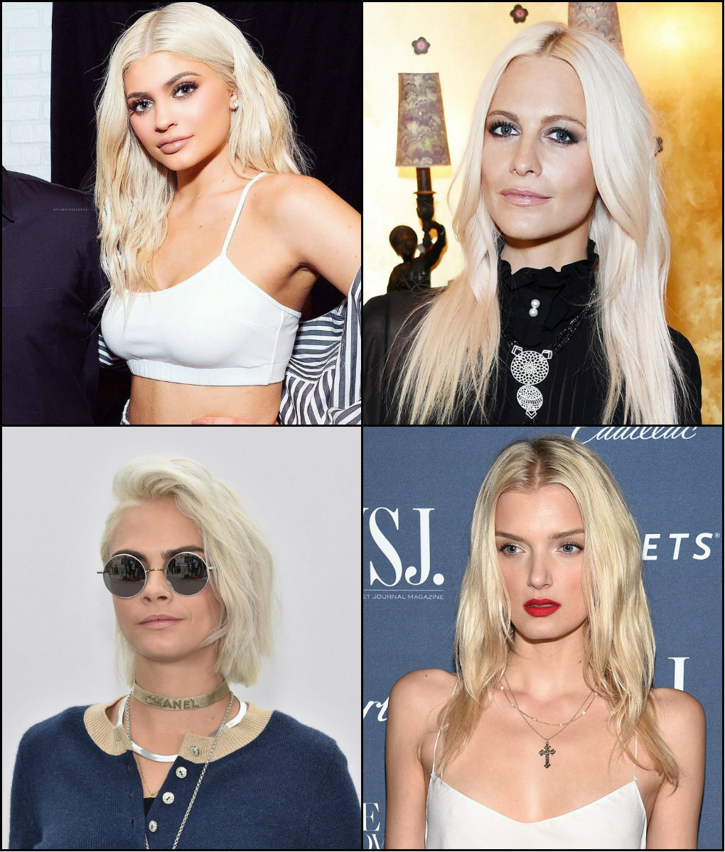 best shades of platinum blonde hair color