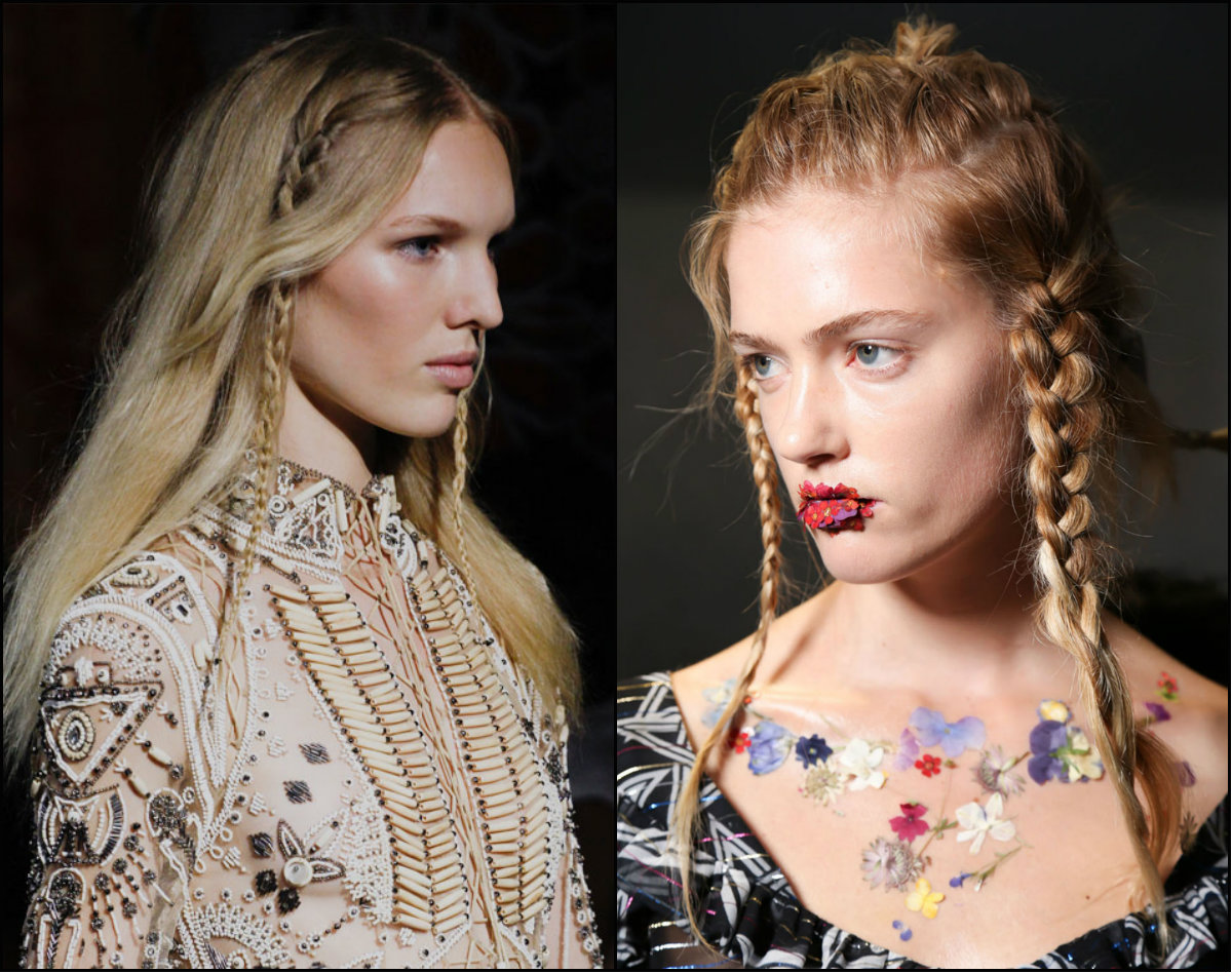 braids hair trends 2017 fall winter 2018