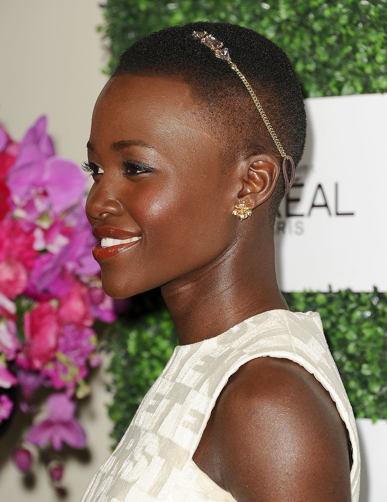 Lupita Nyong'o short hair trends 2018