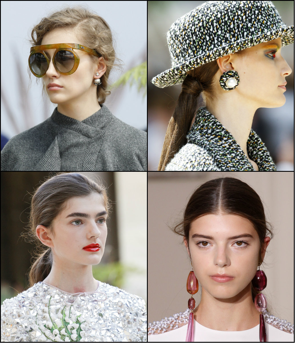 fall 2017 hairstyles Couture Fashion Week