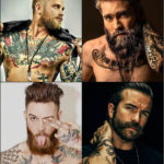 Gorgeous Mens Hairstyles With Beards 2018