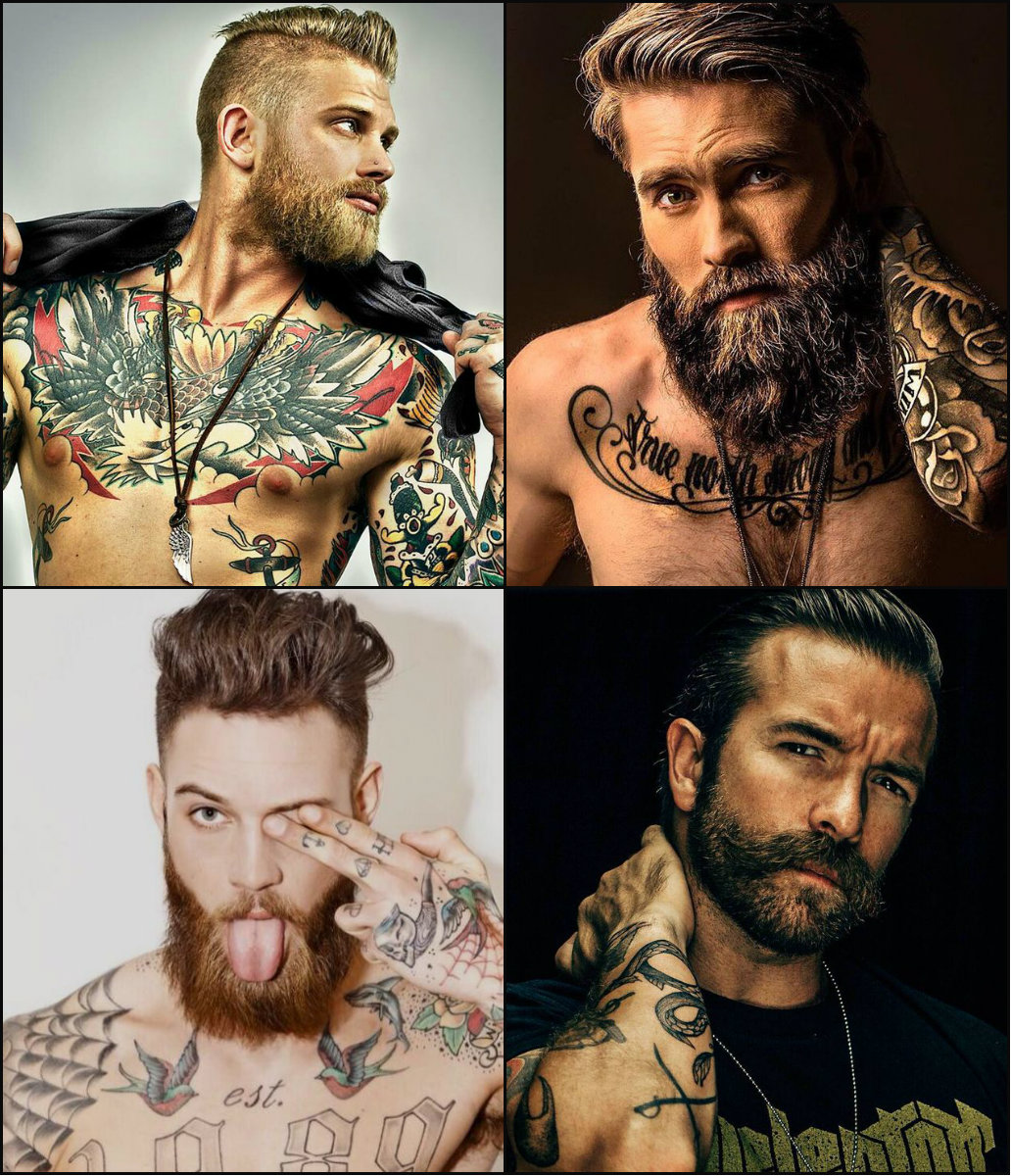 best mens hairstyles with beards 2018
