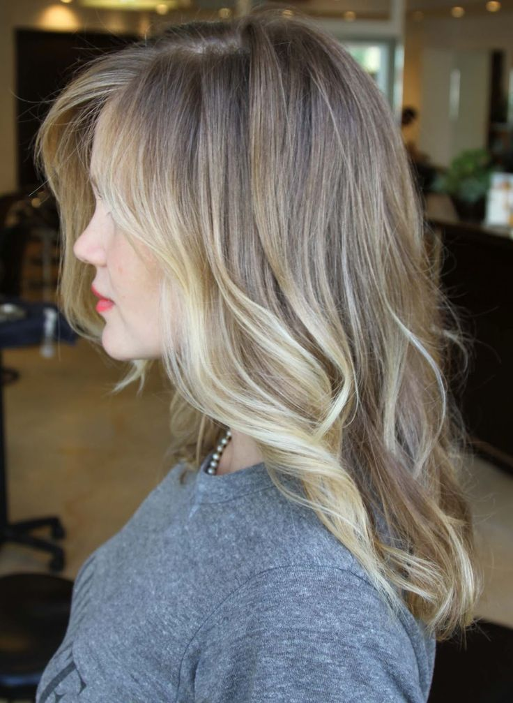 blonde balayage hair colors 2018