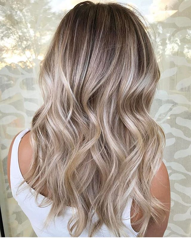 balayage blonette hair colors 2018 pretty. Black Bedroom Furniture Sets. Home Design Ideas