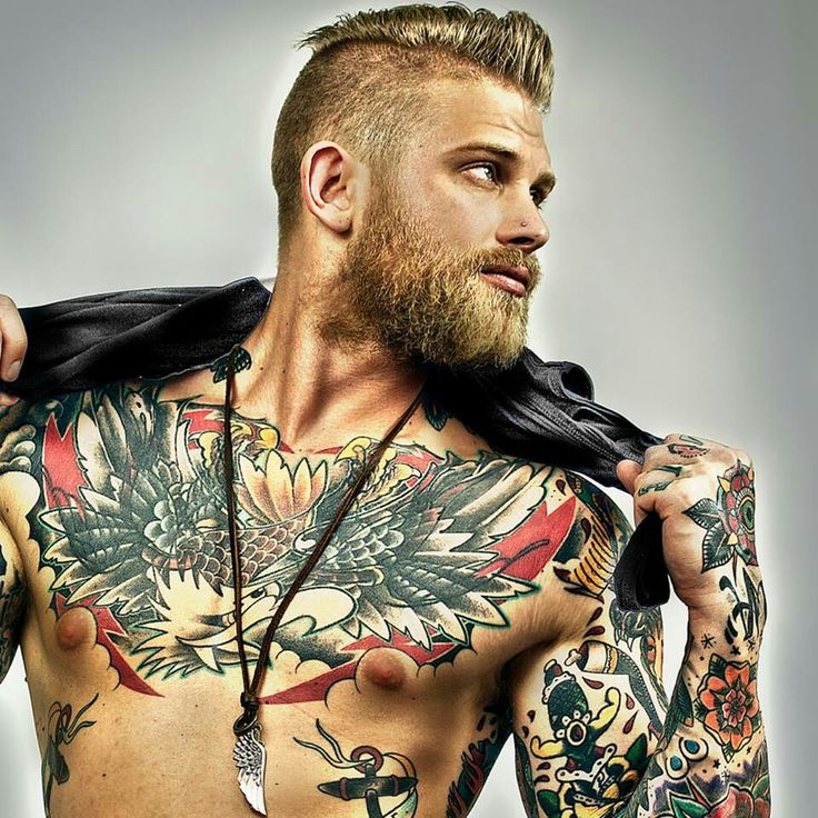 short fade haircuts with beards for men