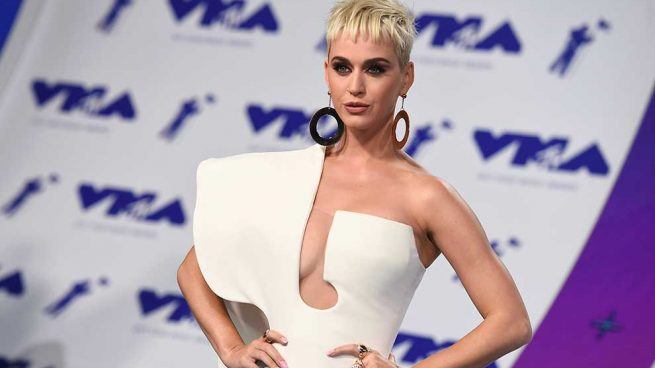 Katy Perry celebrity hairstyles 2017 VMA