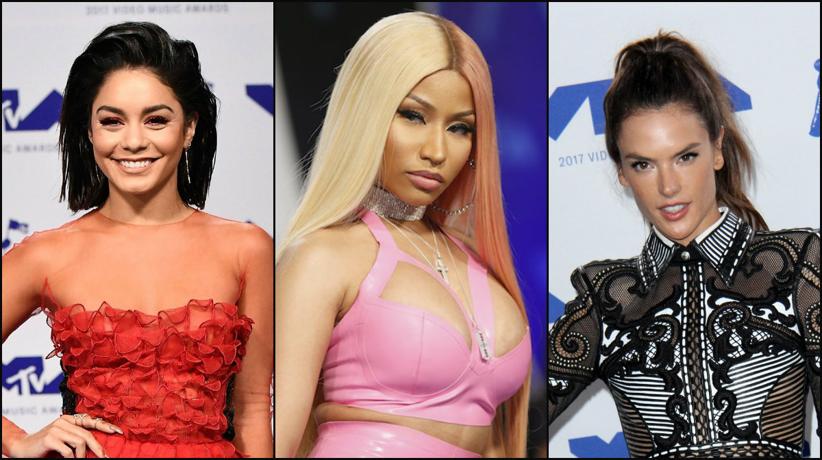best celebrity hairstyles 2017 VMA