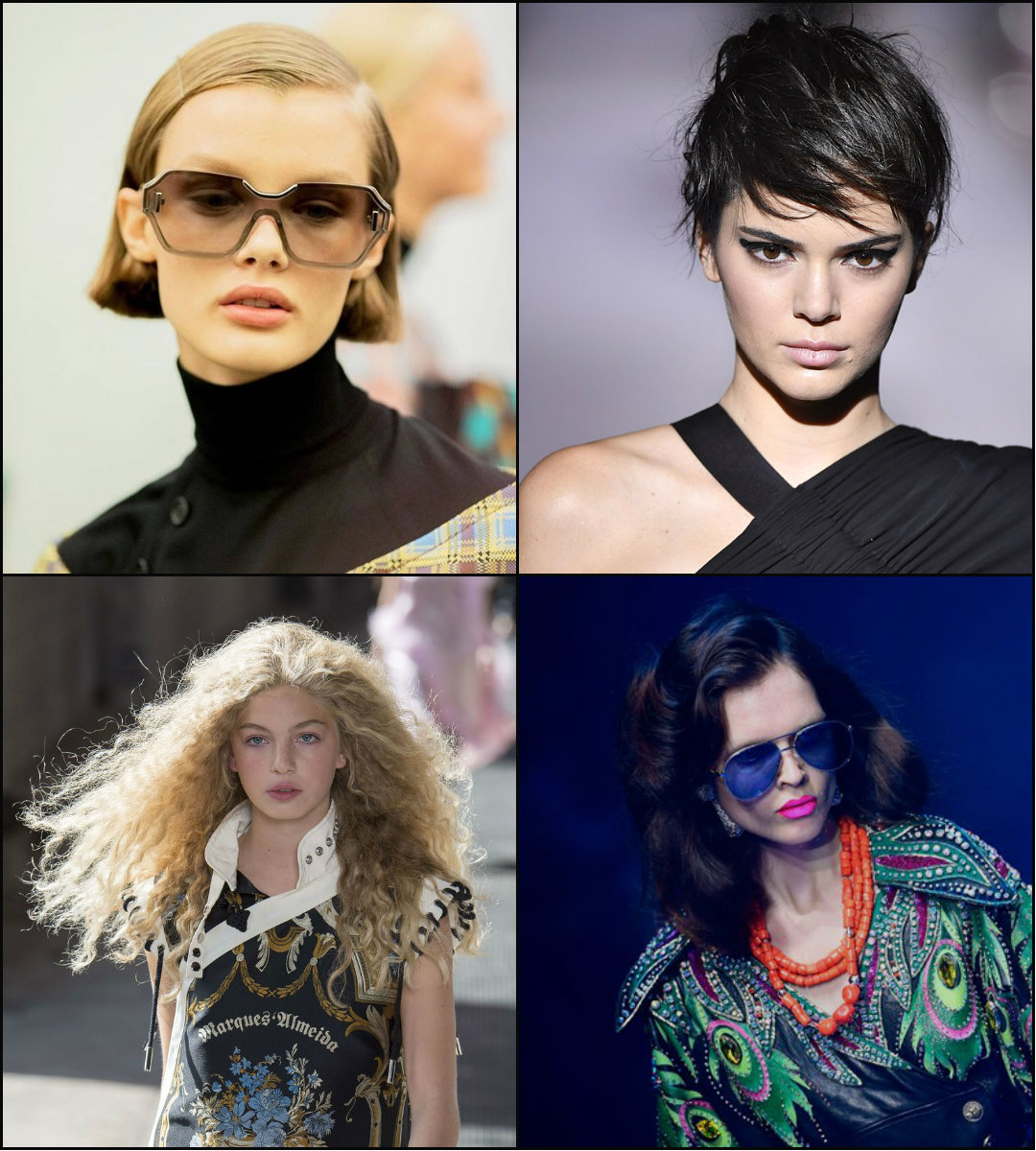 Fashion trends in haircuts and hairstyles summer 2018