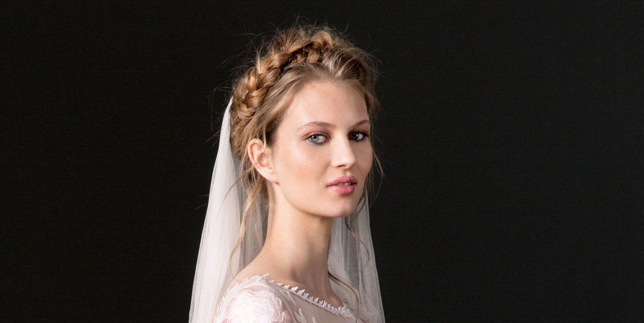 Temperley London wedding braids hairstyles 2018