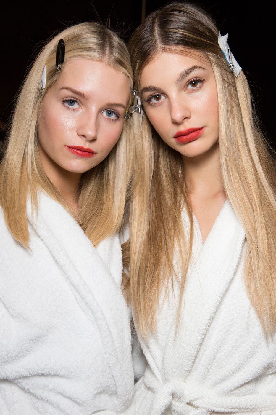 sleek and straight hair trends 2018 spring summer
