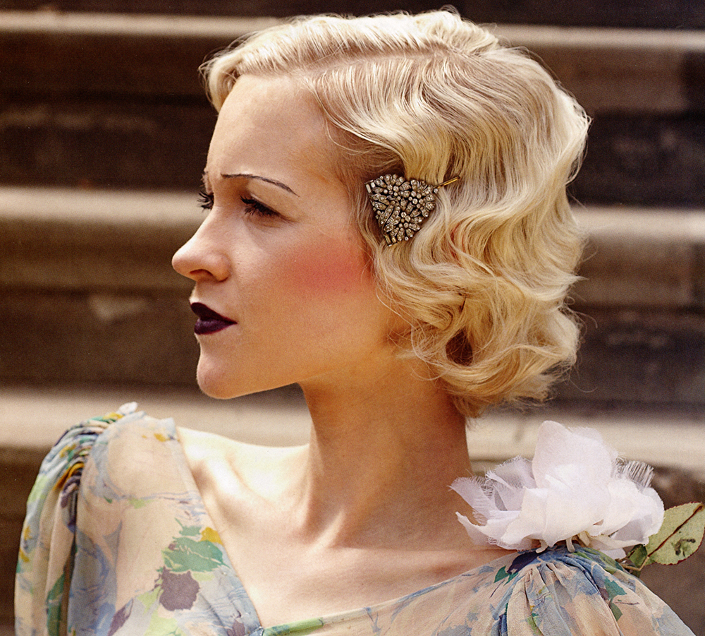 vintage hairstyles for new year party 2018