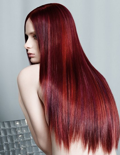 Burgundy Hair Color For Red Hair Brunettes And Blondes