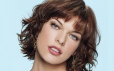 milla jovovich layered bob haircuts