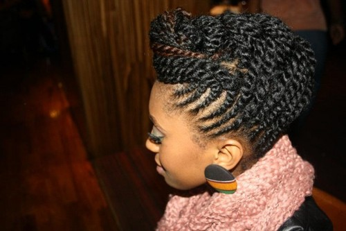 Eye Catching Updos For Black Women