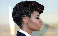formal box braids updo hairstyles 2014