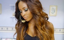 honey brown ombre hair