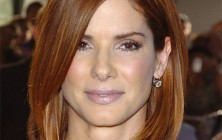 Sandra Bullock hairstyles for square faces 2014