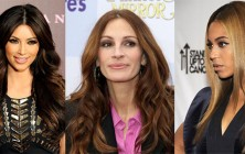 celebrity long hairstyles 2014