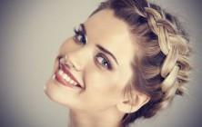 2014 Fall-Winter 2015 braided bridal hairstyles