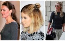 half bun hairstyles 2015