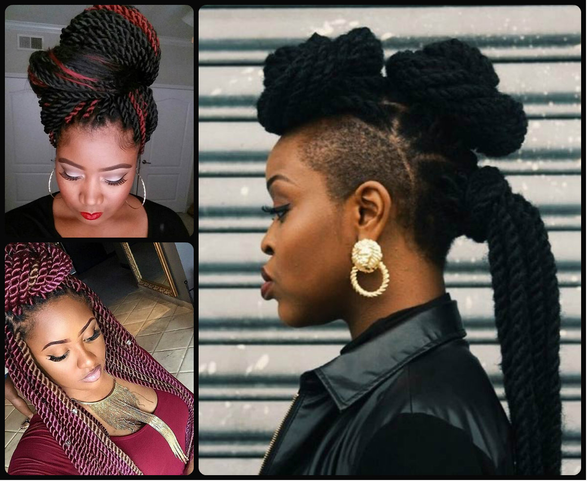 whimsical twist hairstyles for black women | hairstyles 2017, hair