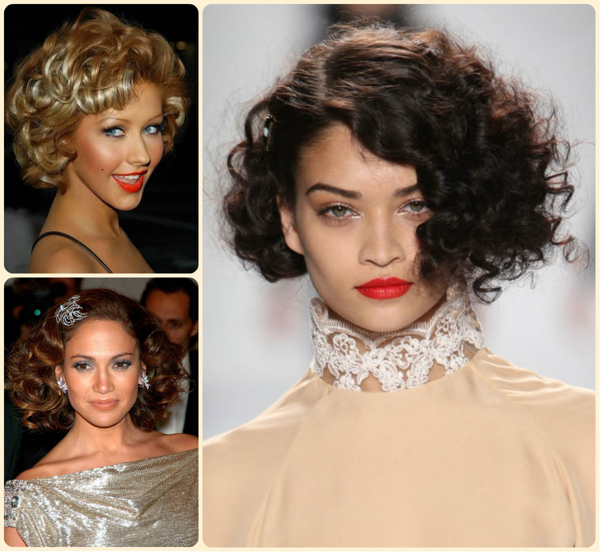 admiring short curly hairstyles | hairstyles 2017, hair colors and