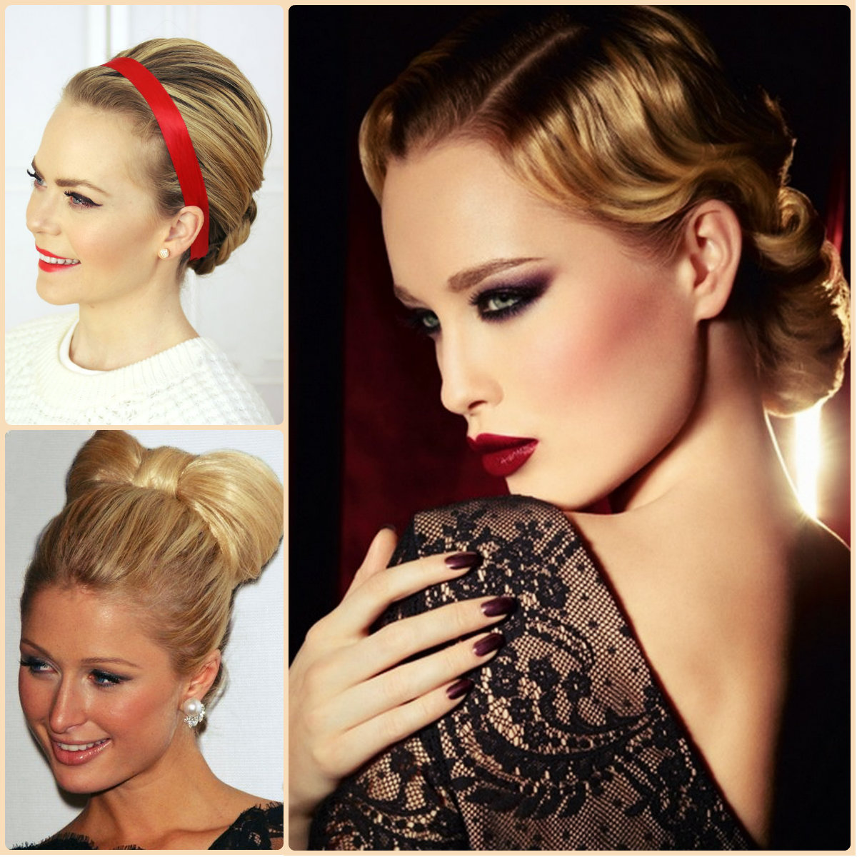 chic christmas party hairstyles to start 2016 | hairstyles 2017