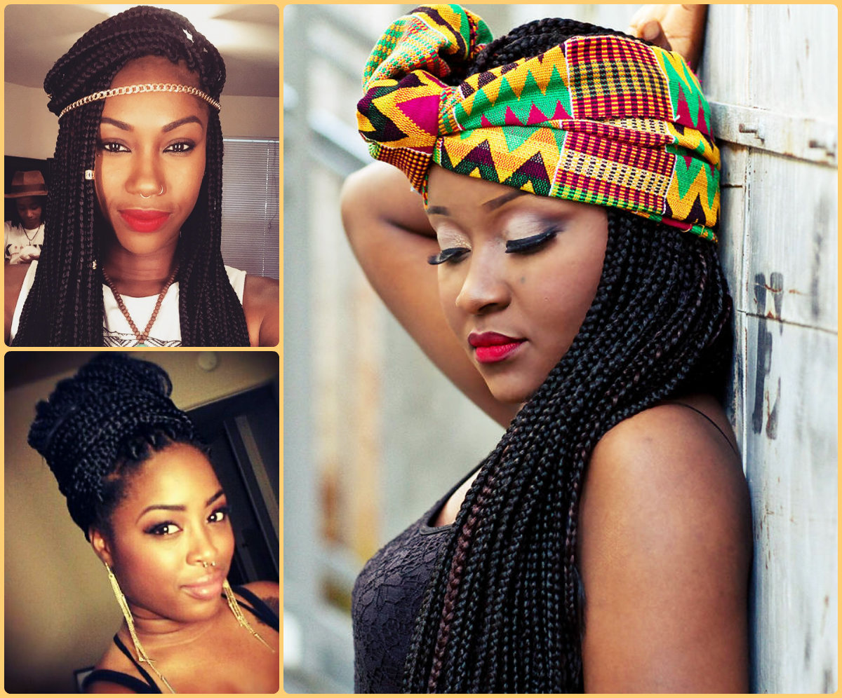 fabulous long box braids hairstyles | hairstyles 2017, hair colors